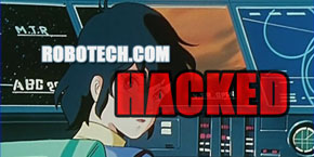 Robotech.com Website Hacked