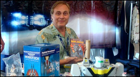 Carl Macek @ RTX Booth in 2008