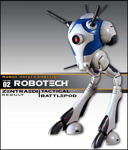 Zentradi Vinyl Battlepod from Toynami!