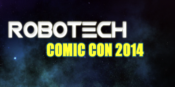 Robotech At Comic Con 2014