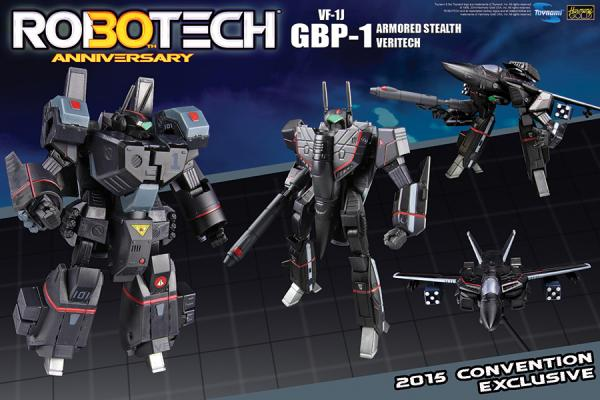 Comic-Con 2015 Toynami Booth Robotech Exclusive